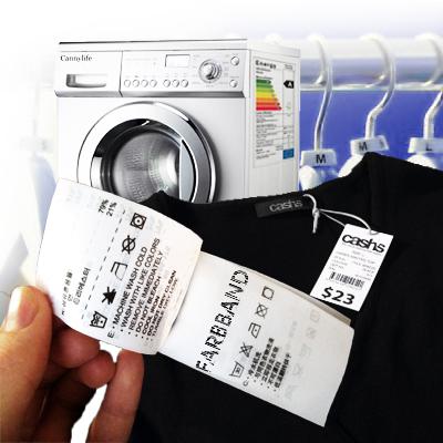 Маркировка на текстильных ярлыках